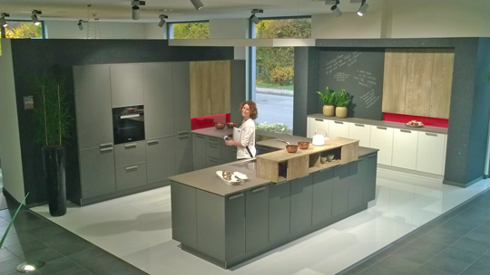 Our designers were thrilled to have the opportunity to see where and how their clients kitchens are made and to speak to the rempp family about the latest