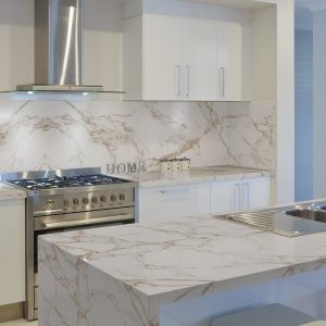 Dekton Entzo worktop for a natural stone effect