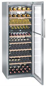Liebherr wine cooler cabinet at truKitchen