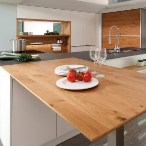 Rempp Alberg wooden oak laminate kitchen facade