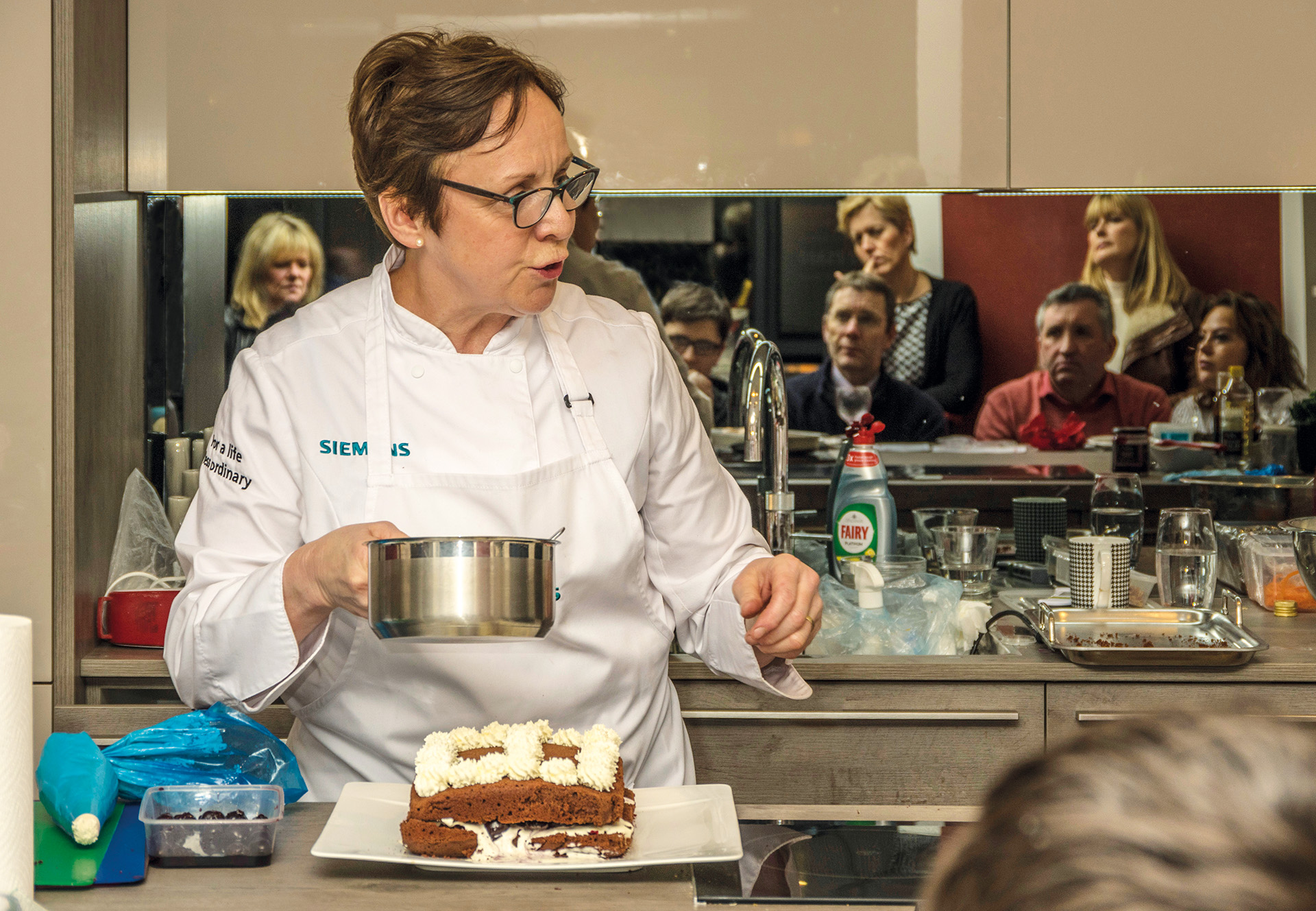 Siemens ovens demonstrated by Sharon Dosworth
